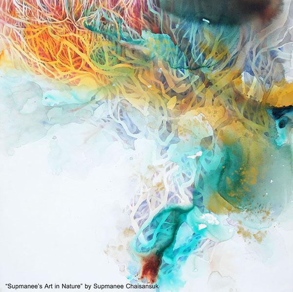 """นิทรรศการจิตรกรรม """"ธรรมชาติของทรัพย์มณี : Supmanee's Art in Nature"""""""