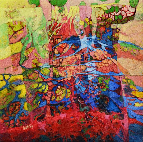 """นิทรรศการ """"Explosion of Colors"""""""