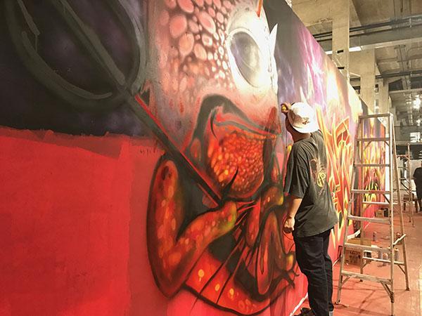 """นิทรรศการ """"ทลายกำแพงศิลป์ : Breakin' the Walls"""""""