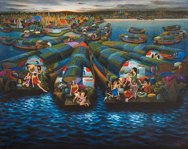 """นิทรรศการ """"ชีวิตสายน้ำ : Life Along the River"""""""