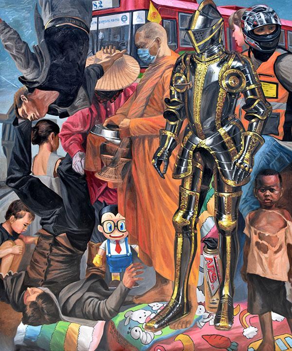 """นิทรรศการศิลปะ """"ชาดก : Allegory"""""""