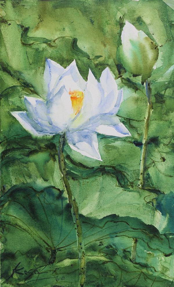 """นิทรรศการ """"จิตรกรรมสีน้ำ : ภาพลักษณ์จากสี"""" (PAINTERY IMAGE)"""