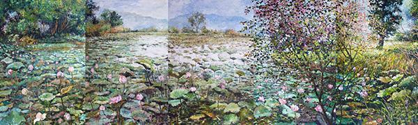 """นิทรรศการ """"เสน่ห์ธรรมชาติ เสน่ห์บุษบา เสน่หาความงาม เสน่ห์สยามประเทศ : The Natural and Flower beauty Charm of Siam"""""""