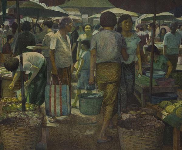 """นิทรรศการ """"จุฬาฯสรรศิลป์"""" (Chula Art's Collection: Color Memoir)"""