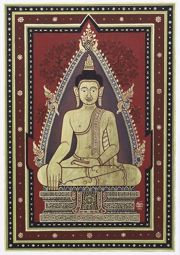 """นิทรรศการ """"ธมฺมา กาเล : ธรรมตามกาล"""" (Dhamma Kale)"""