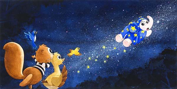 """นิทรรศการภาพเขียนประกอบหนังสือ """"ไกลโพ้นฟ้าเหนือหมู่ดาราเจิดจ้า : Beyond the Stars"""""""
