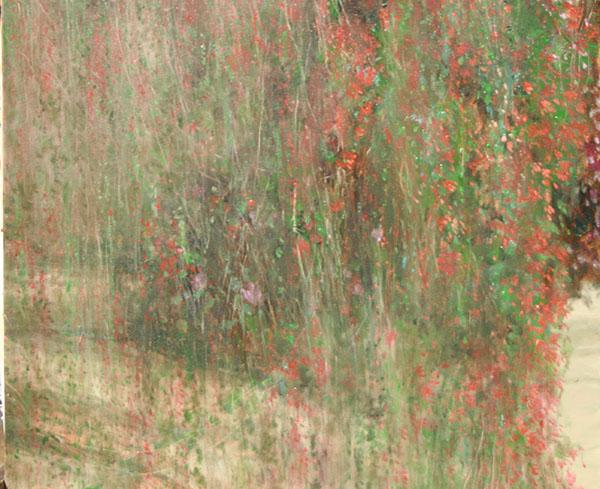 """นิทรรศการ """"ต้นไม้เป็นสีขาว ดอกไม้เป็นสีชมพู"""""""