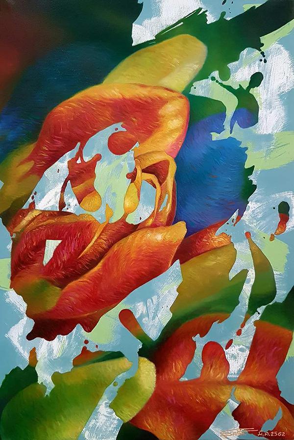 """นิทรรศการ """"สีสันของชีวิต : The Colour of Life"""""""