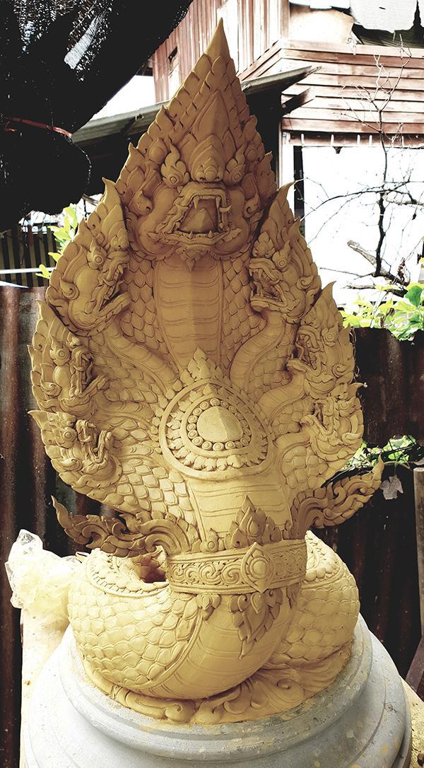 """นิทรรศการศิษย์เก่าจิตรกรรมไทยเพาะช่าง ครั้งที่ 1 """"หัวโบราณ : Archaic Art"""""""