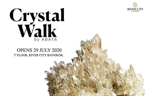 """นิทรรศการคริสตัล """"Crystal Walk"""""""