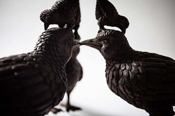"""นิทรรศการศิลปะ """"One for the Birds"""""""