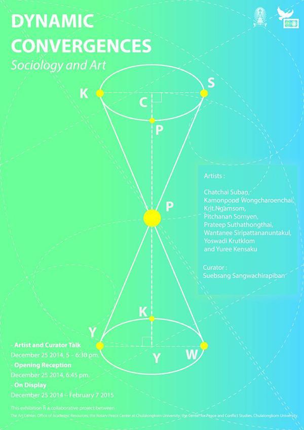 นิทรรศการศิลปะร่วมสมัย Dynamic Convergences: Sociology and Art