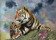 """นิทรรศการจิตรกรรม """"เสือ : Tiger"""""""