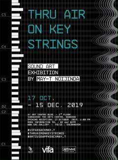 """นิทรรศการ Sound Art """"Thru Air on Key Strings"""""""