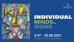 """นิทรรศการ """"Individual minds..Individual signs"""""""