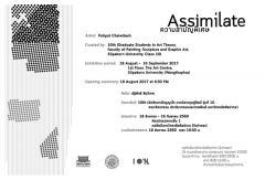 """นิทรรศการศิลปะร่วมสมัย """"ความสามัญพิเศษ : Assimilate"""""""