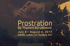 """นิทรรศการ """"กราบสักการะ : Prostration"""""""