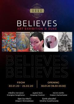 """นิทรรศการ """"Believes ART EXHIBITION"""""""