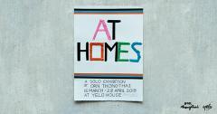 """นิทรรศการ """"AT HOMES"""""""