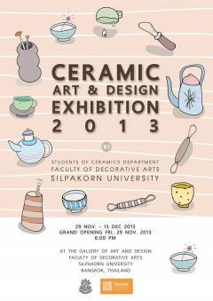 Ceramic Art & Design Exhibition 2013