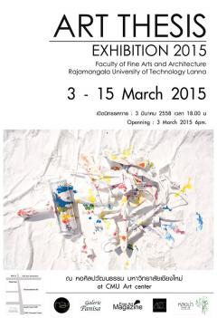 ART THESIS Exhibition 2015 RMUTL