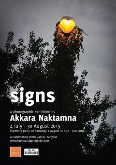 """นิทรรศการภาพถ่าย """"สัญญาณ : Signs"""""""
