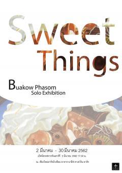"""นิทรรศการ """"Sweet Things"""""""