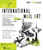 """นิทรรศการ """"การแสดงศิลปกรรมนานาชาติเมลอาร์ต : The 3rd International Mail Art"""""""