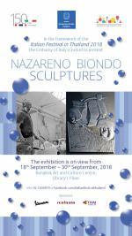 """นิทรรศการ """"Nazareno Biondo Sculptures"""""""