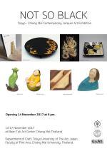 นิทรรศการ Tokyo - Chiang Mai Contemporary Lacquer Art Exhibition