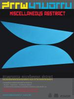 """นิทรรศการ """"สรรพนามธรรม miscellaneous abstract"""""""